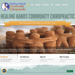 chiropractor website design